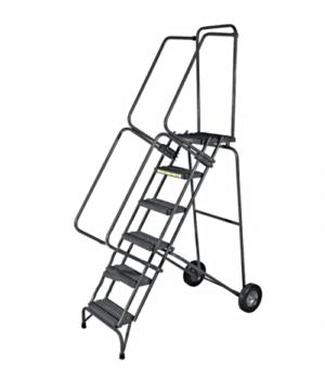 Stainless Steel Fold-N-Store Ladders