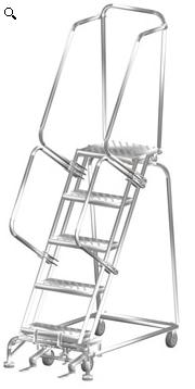 Stainless Steel Lockstep Ladders