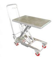 Stainless Steel Scissor Carts