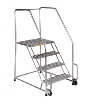 Stainless Steel Tilt & Roll Ladders