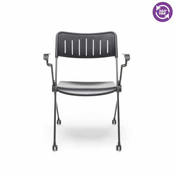 Stanza Nesting Plastic Stack Chair with Arms