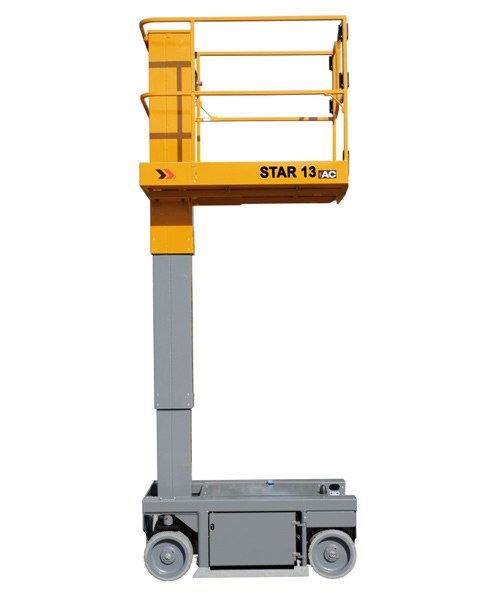 Star13p Electric Vertical Mast Lift Industrial Man Lifts