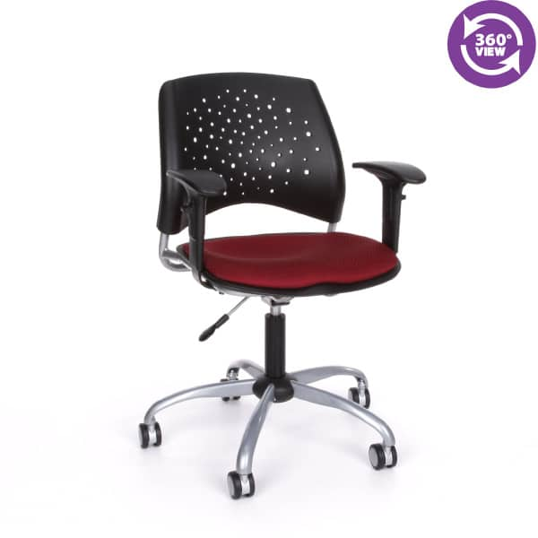 Stars Swivel Chair with Arms