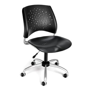 Stars Swivel Plastic Chair