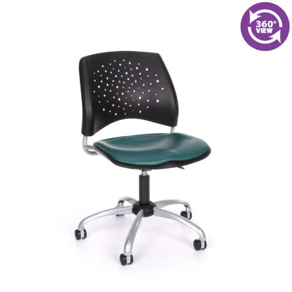 Stars Swivel Vinyl Chair