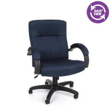 Stature Series Upholstered Executive Mid-Back Conference Chair