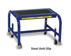 Steel Mobile Step Stool - WLSR001163-WM