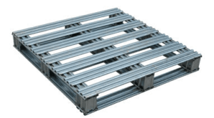 Steel Pallets with Galvanized Finish