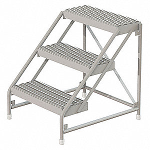 Steel Step Stool - WLST002212CAS