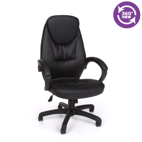 Stimulus Series Leatherette Executive High-Back Chair