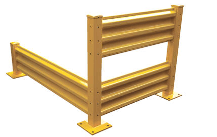 Structural Guard Rail – drop-in and bolt-on style