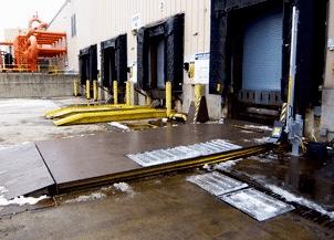 Surface Mounted Truck Leveler