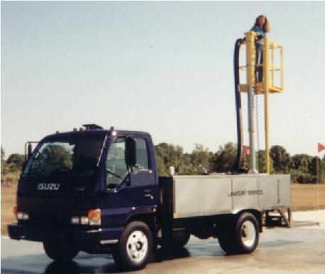TL600-Platform Lavatory Service Truck