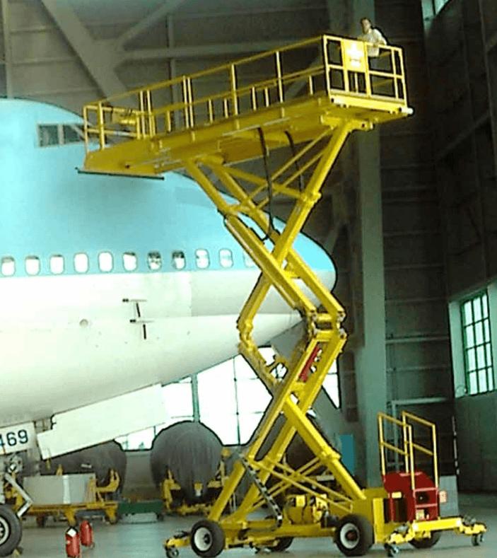 Telescopic Scissor Lift Maintenance Platform Industrial