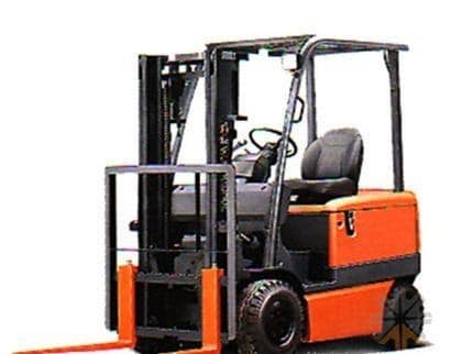 Toyota Forklift 3000 lbs Capacity 8FGCU15