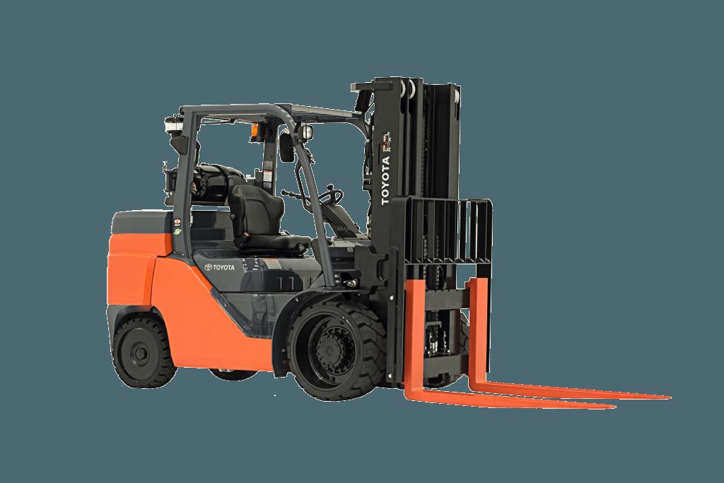 Toyota Lift Truck 13500 lbs Capacity 8FGC60U