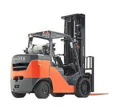 Toyota Lift Truck 8000 lbs Capacity 8FGC35U
