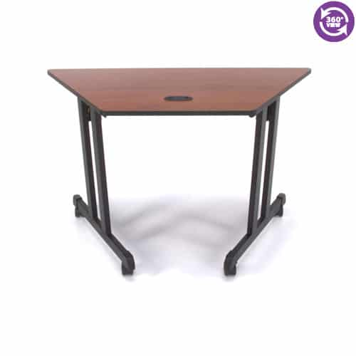 Trapezoid Table 48 by 24