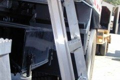 Truck Angled Slide Away Ladder
