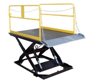 Truck Scissor Dock