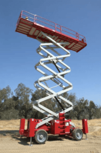 Ultra Deck Scissor Lift