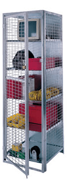 Visibility Storage Lockers