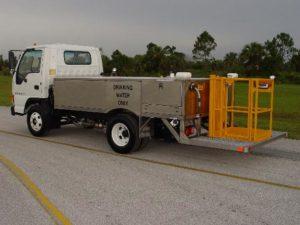 WT600 Water Service Truck