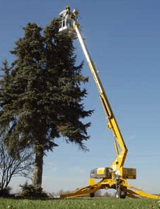 bil-jax 3632t trailer boom lift 1
