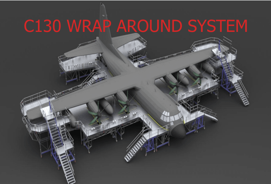 C-130 Aircraft Full Docking System