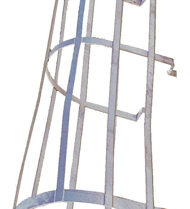 Industrial Man Lift Ladder Safety