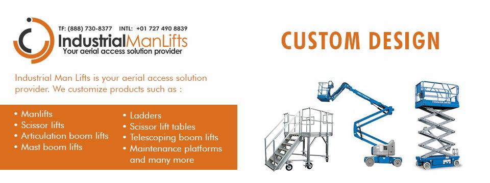 industrial man lifts custom access solutions