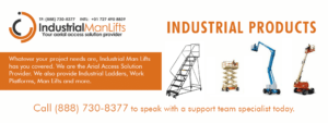 industrial products from Industrial Man Lifts