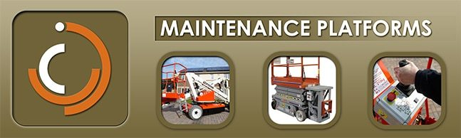 industrial maintenance platforms & man lifts