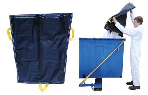 pallet racking trash bags 1