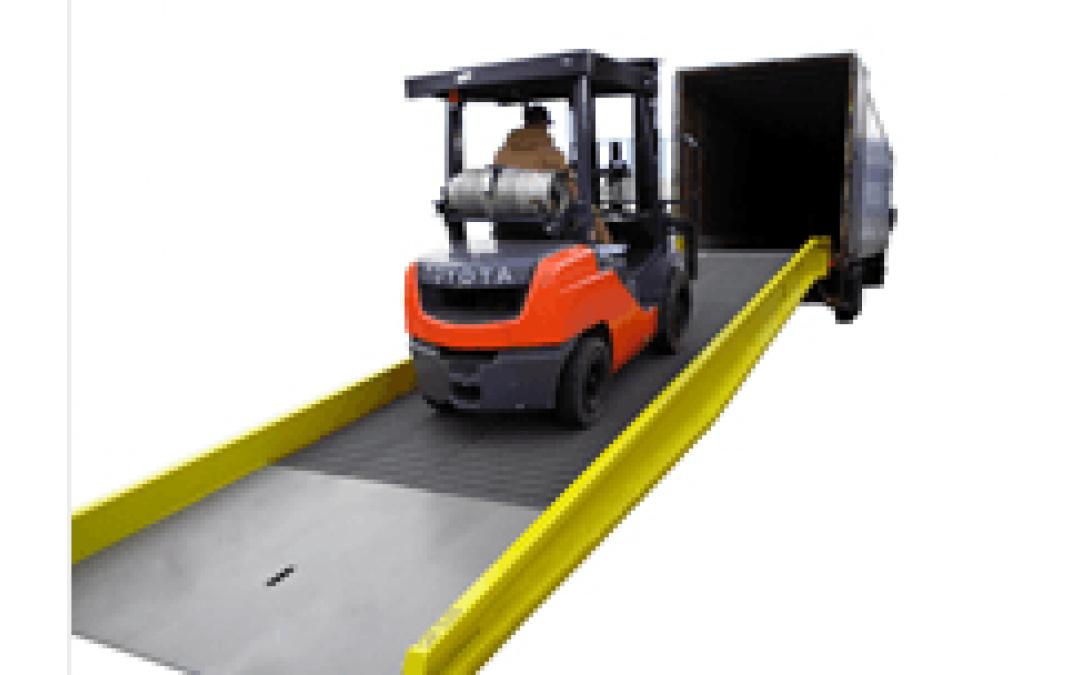 Portable Steel Yard Ramp