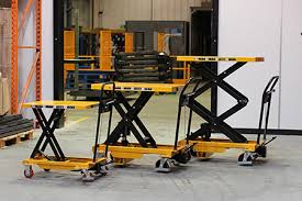 use of Mobile Scissor Lift Table